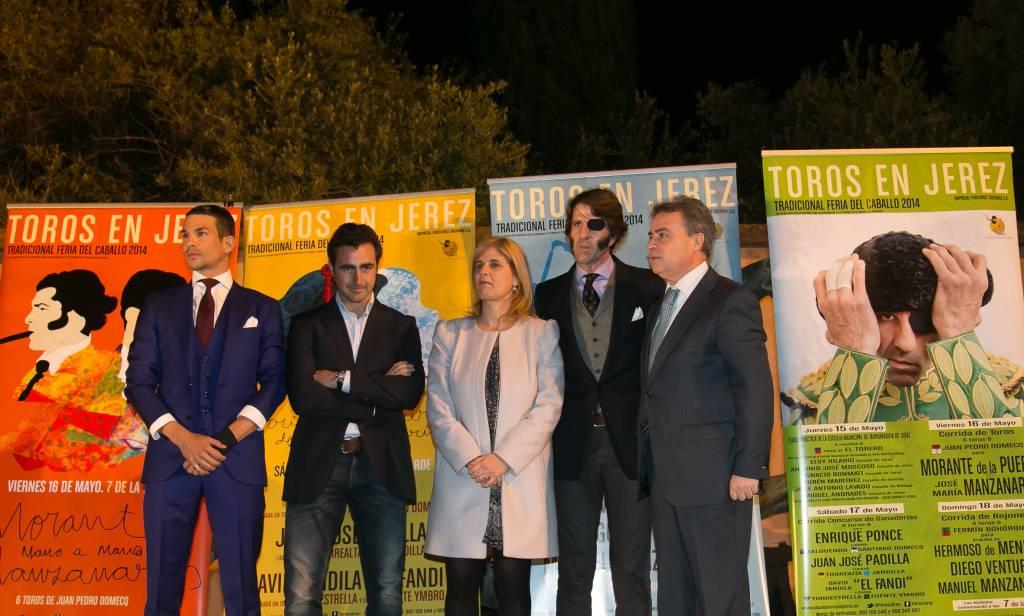 Presentación oficial Feria del Caballo 2014 de Jerez