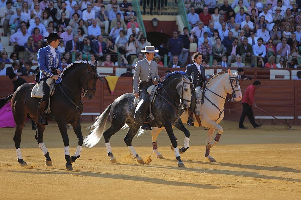 Rejones en Jerez