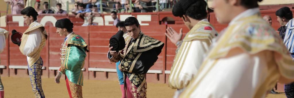 Novillada Clase Práctica Escuela Municipal de Tauromaquia de Jerez