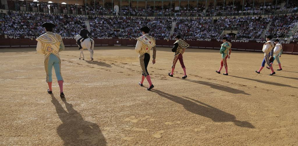 Triunfal clase práctica de la Escuela Municipal de Tauromaquia de Jerez