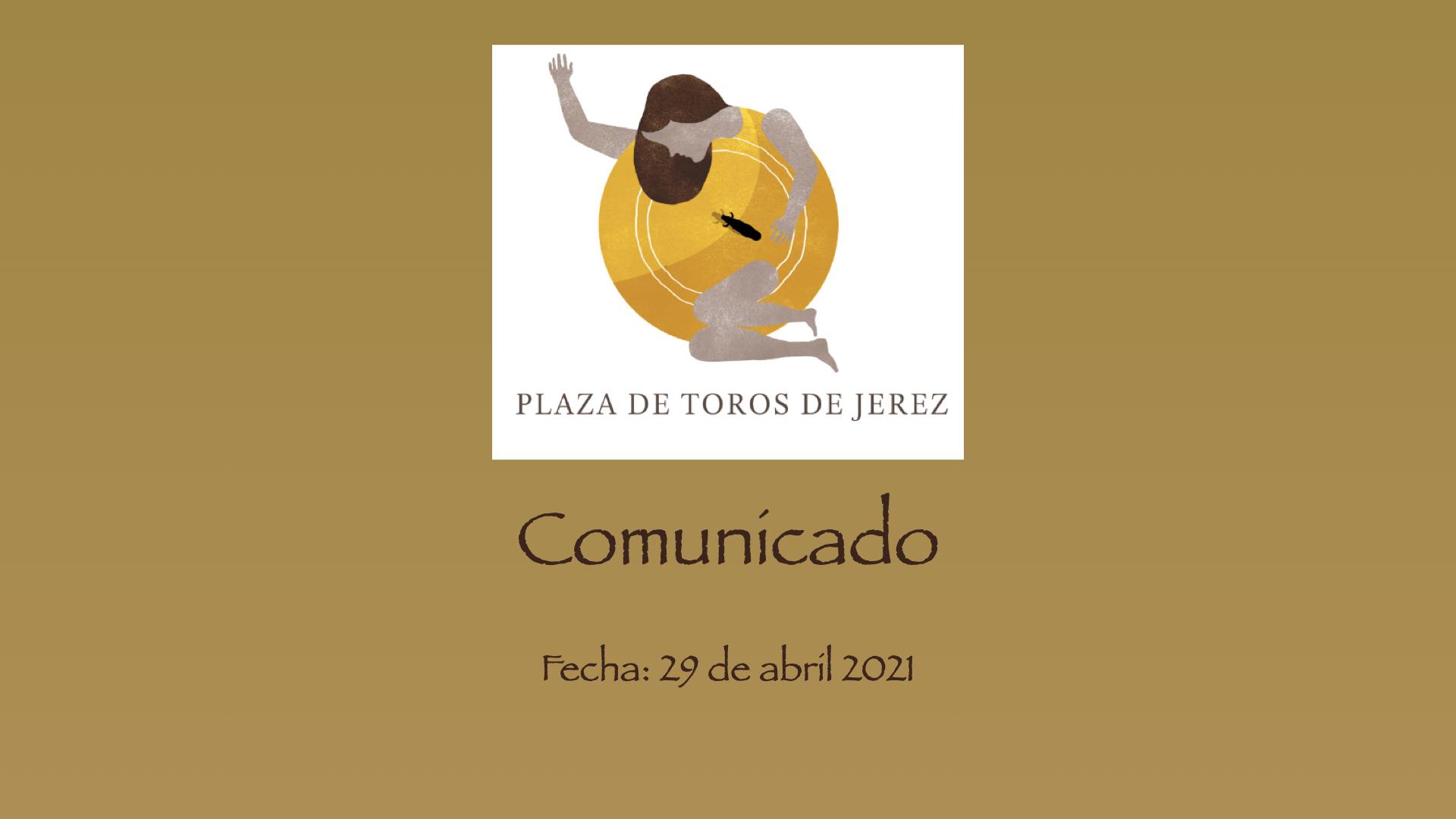 Aplazamiento festejos taurinos de Jerez 2021