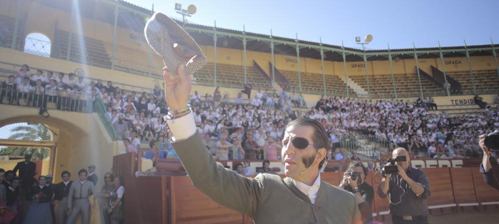 Más de 1.500 escolares asisten al tentadero público en la Plaza de Toros de Jerez