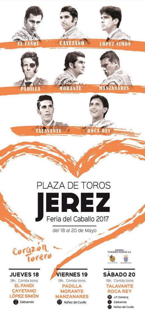 Cerrado los carteles de la feria taurina de Jerez 2018